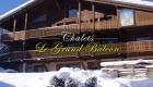 Chalets Le Grand Balcon Les Houches Hiver