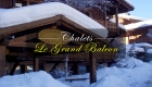 Chalets Le Grand Balcon Les Houches Hiver
